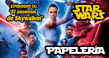 STAR WARS PAPELERIA 2019-20